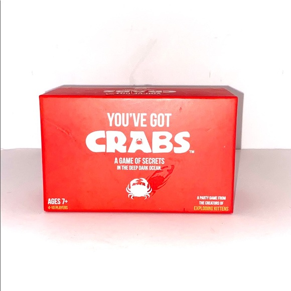 """""""You've Got Crabs"""" Party Game"""